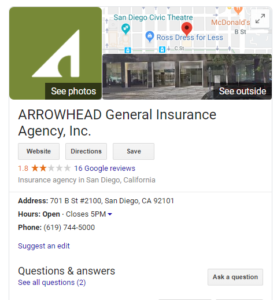 insurance agent marketing tips-Google